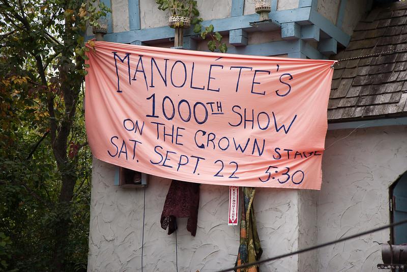Manolete's 1000th Show – Michigan Renaissance Festival