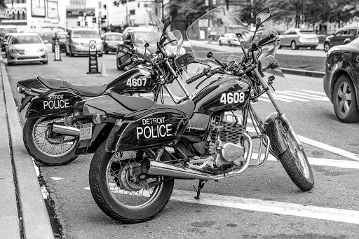 Police motorcycles are a rare sight to begin with for me – so seeing these two sleek…
