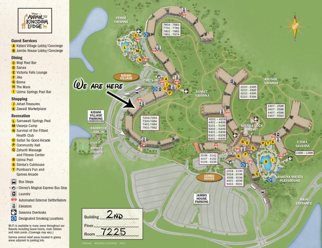 Kidani map