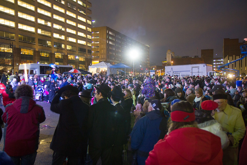 Menorah Lighting 2014 – Campus Martius