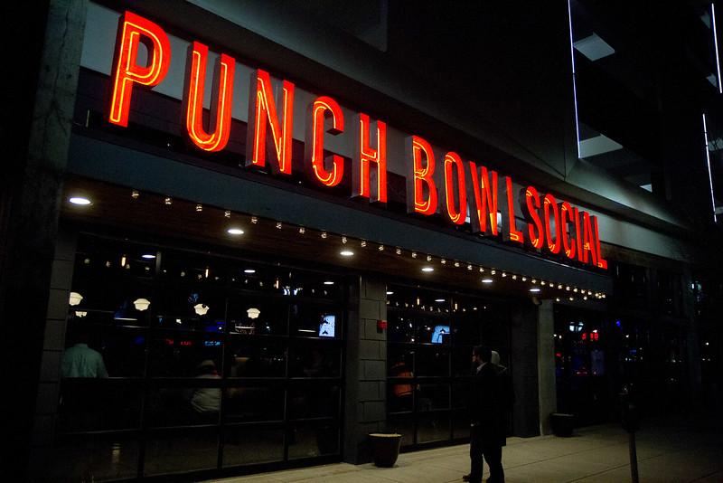 Punch Bowl Social Grand Opening
